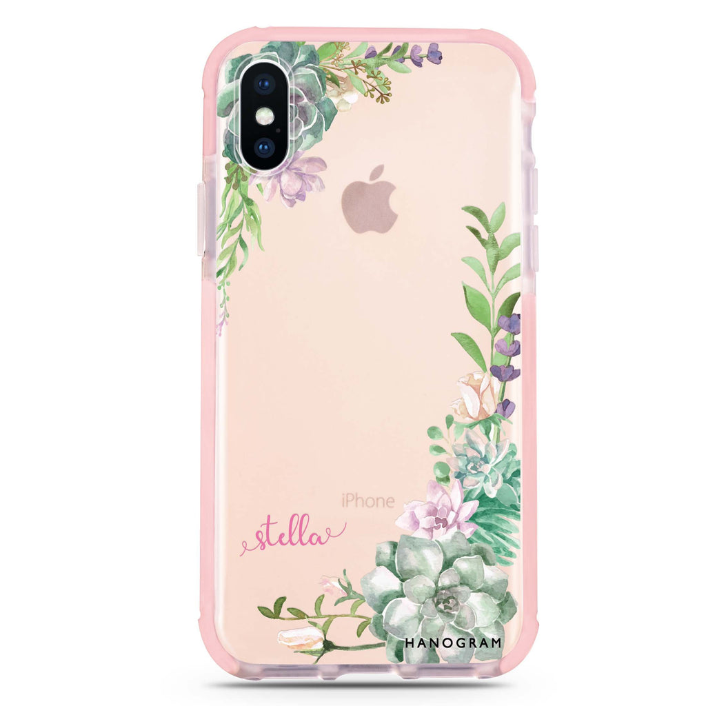 Rose in Wild iPhone XS Max 吸震防摔保護殼