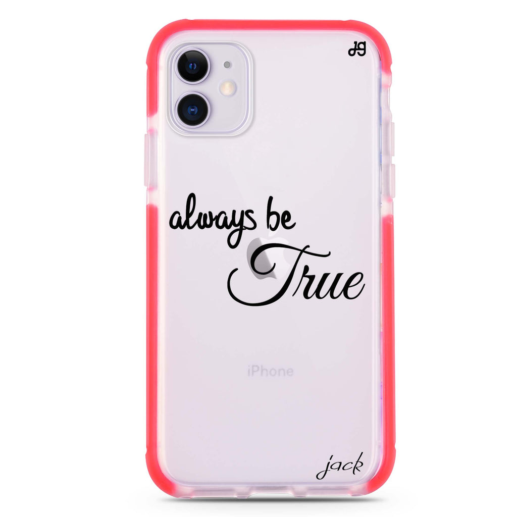 Always be true love with passion I iPhone 11 吸震防摔保護殼