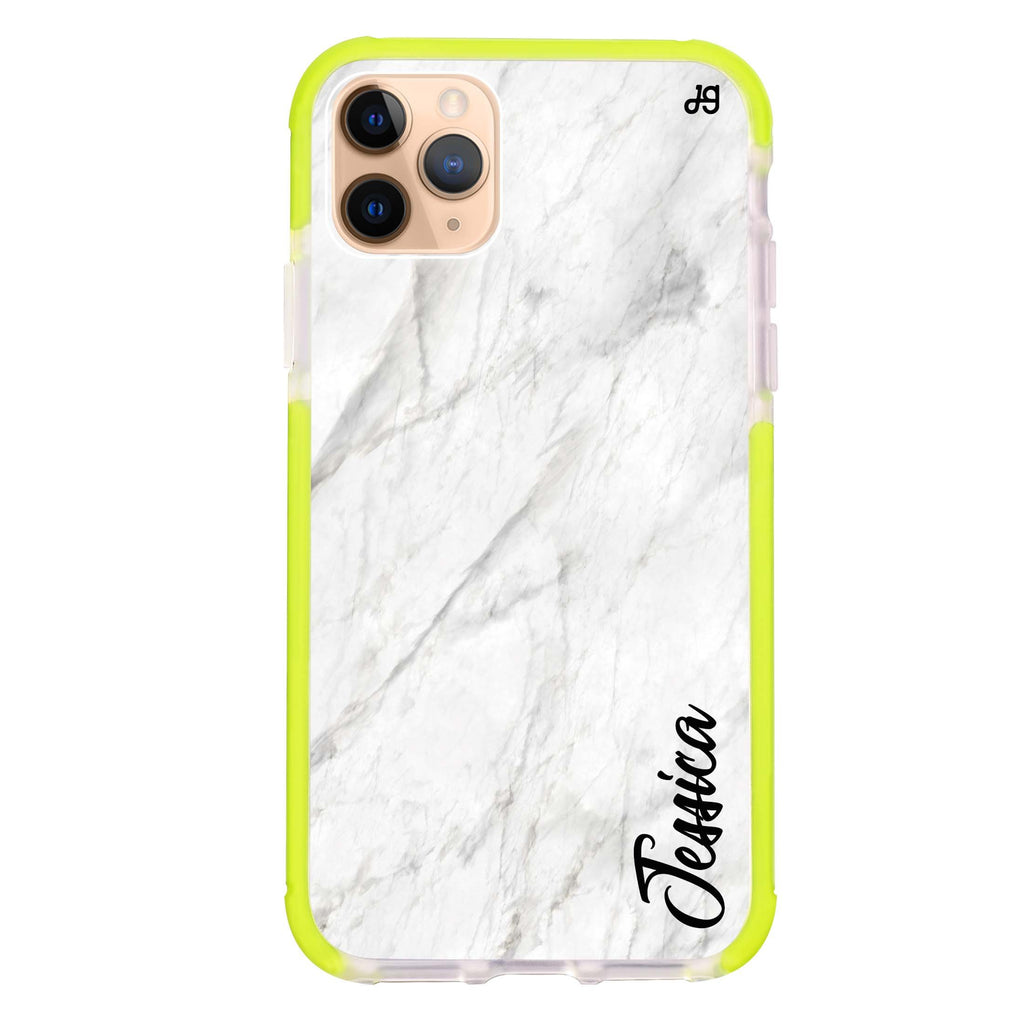 White Marble – Deep Love iPhone 11 Pro Max 吸震防摔保護殼