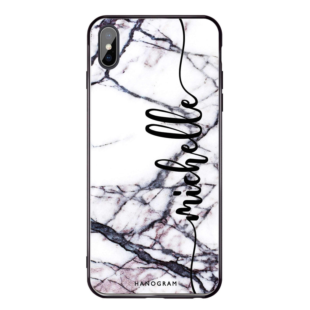 Marble Edition VI iPhone X 超薄強化玻璃殻