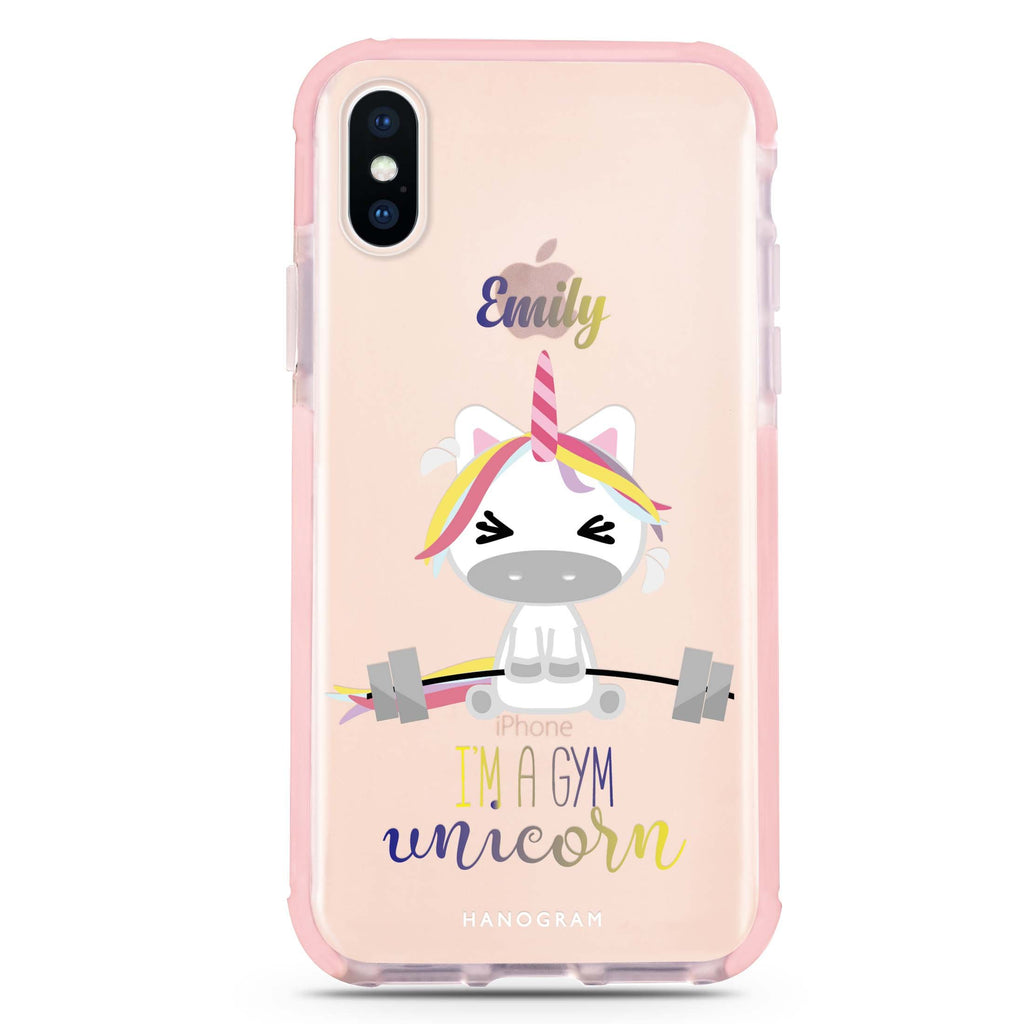 Gymnast Unicorn iPhone XS Max 吸震防摔保護殼