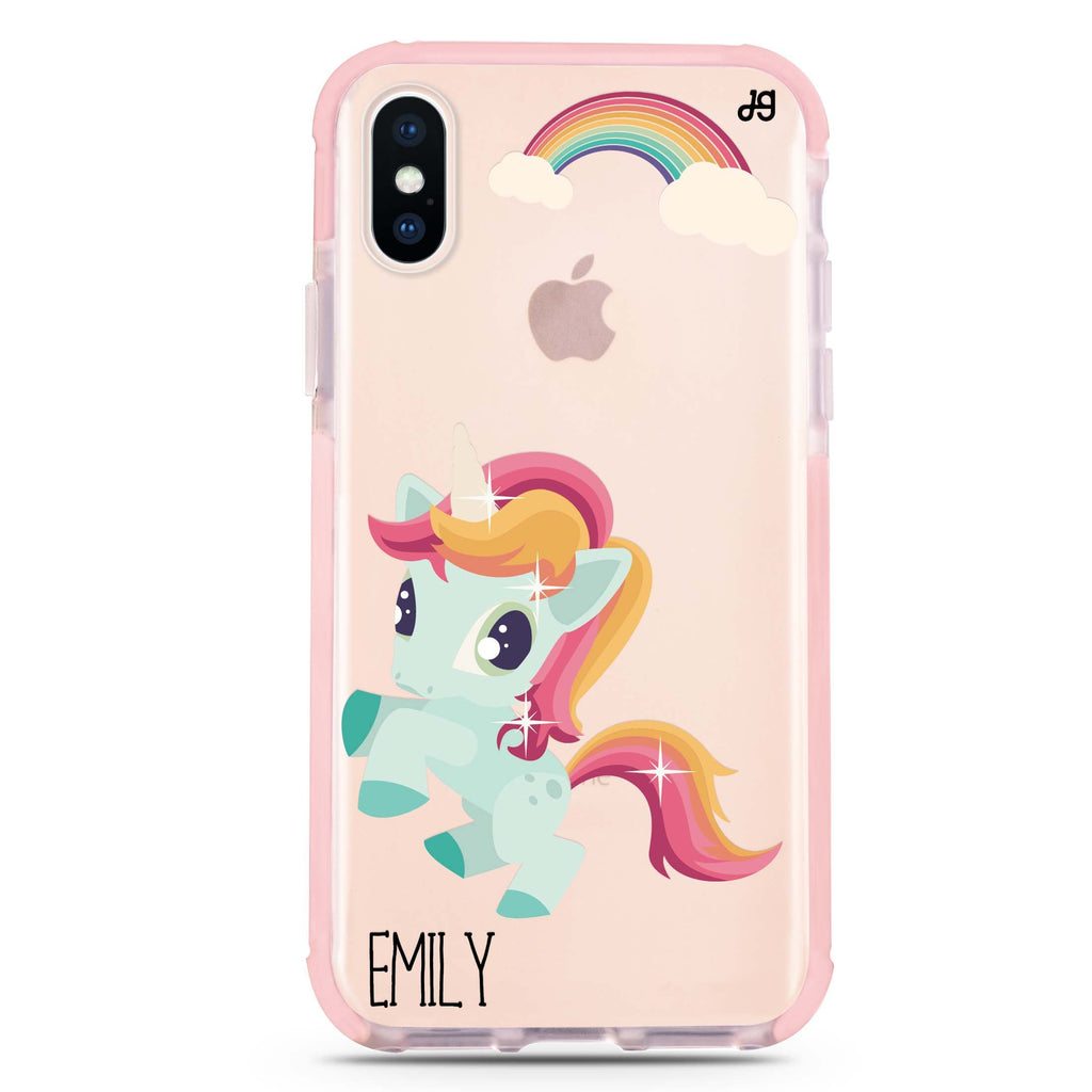 Lovely Unicorn II iPhone XS Max 吸震防摔保護殼