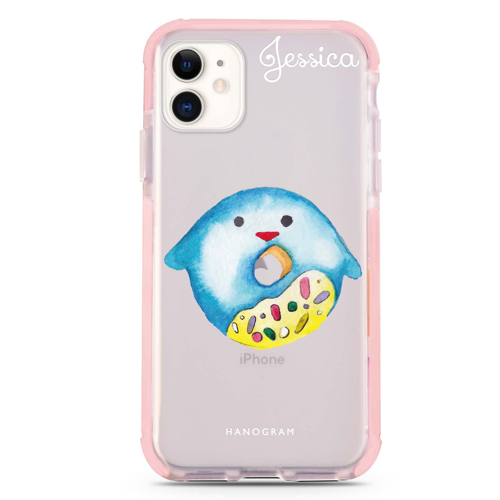 Sweet donut penguin iPhone 11 吸震防摔保護殼