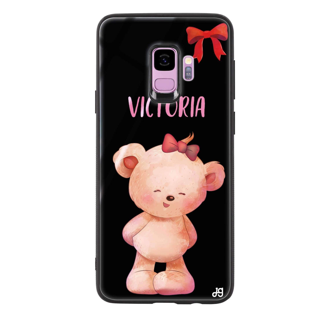 Bear Lovely Samsung S9 超薄強化玻璃殻