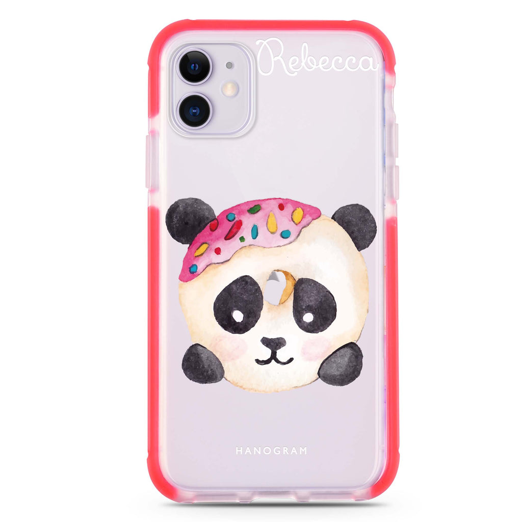 Sweet donut panda iPhone 11 吸震防摔保護殼