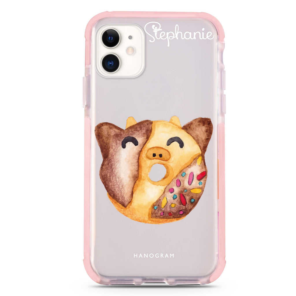 Sweet donut calf iPhone 11 吸震防摔保護殼