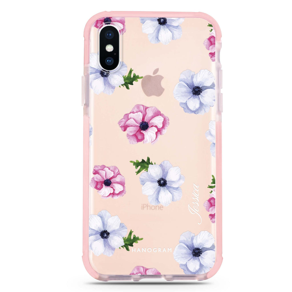 Ideal floral iPhone XS Max 吸震防摔保護殼
