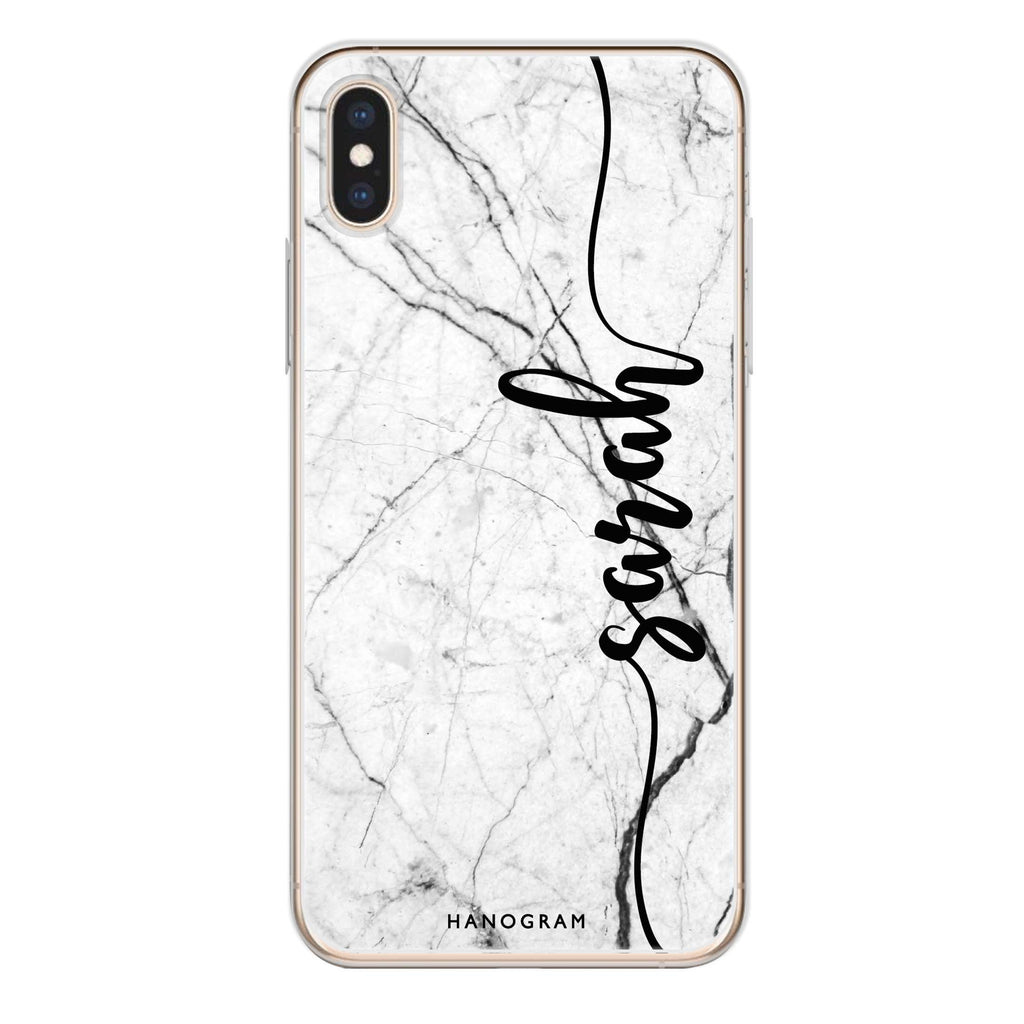 Marble Edition II iPhone X 透明軟保護殻