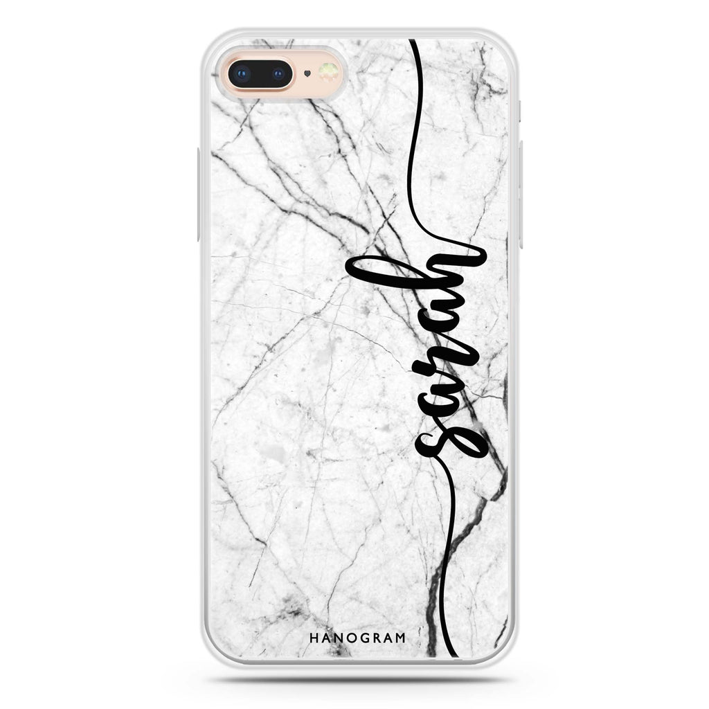 Marble Edition II iPhone 8 Plus 透明軟保護殻