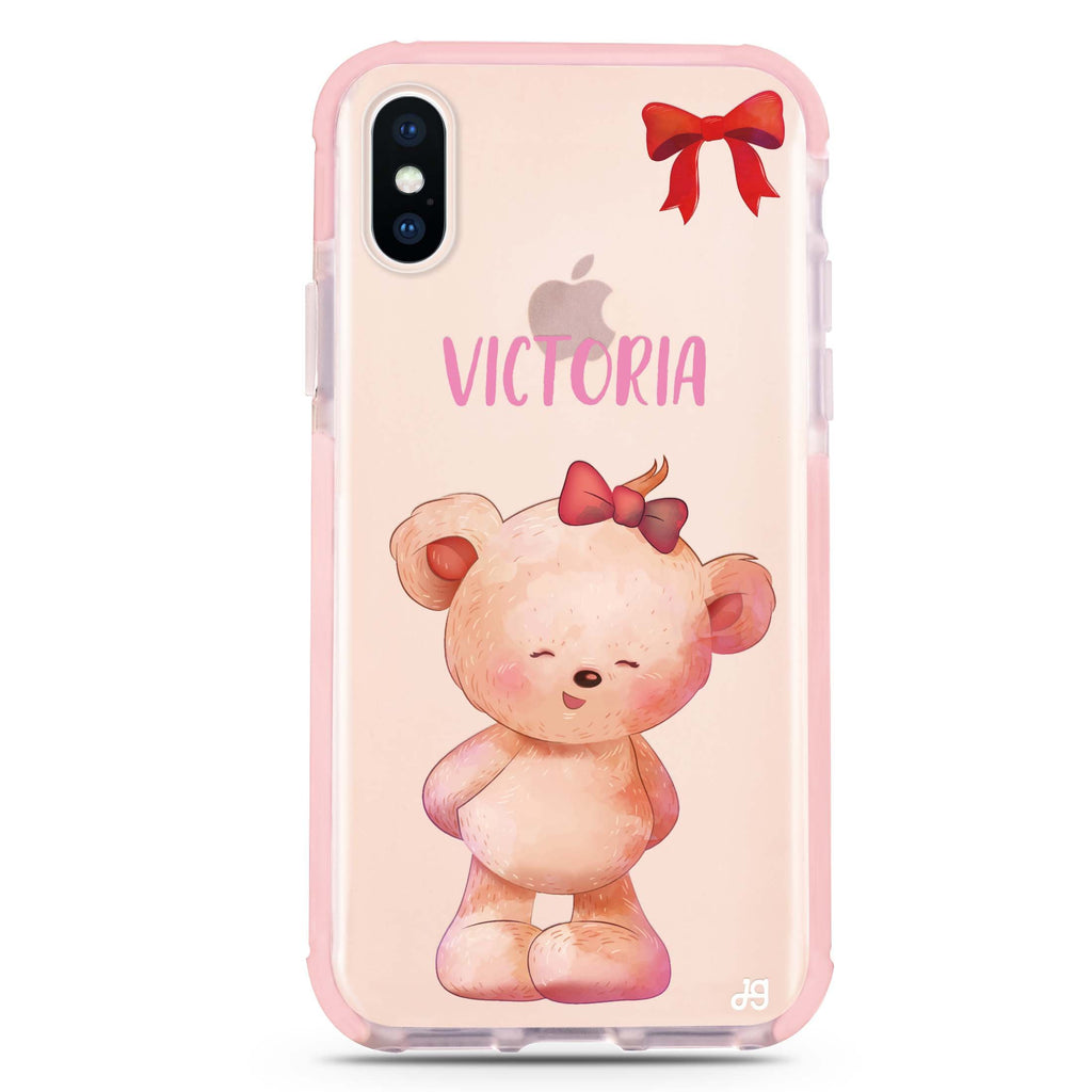 Bear Lovely iPhone XS Max 吸震防摔保護殼