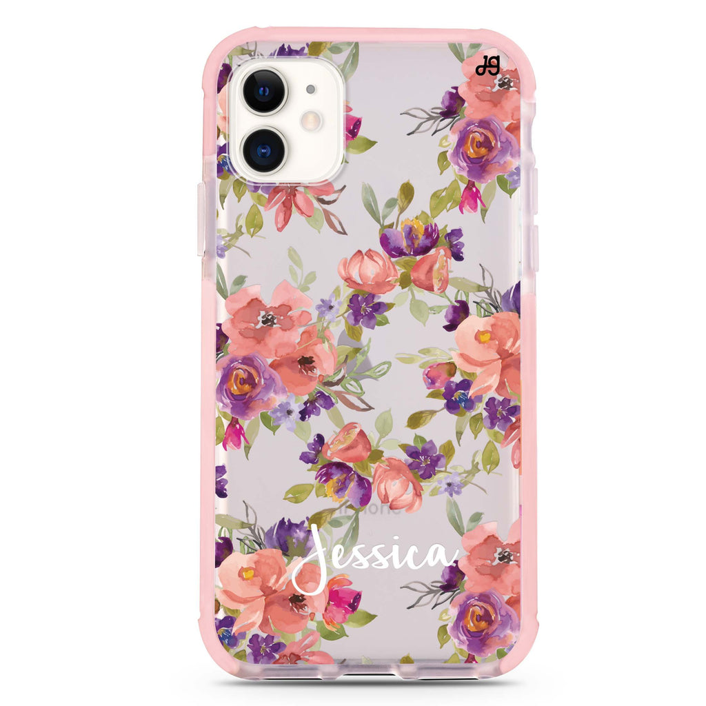 Floral Impression iPhone 11 吸震防摔保護殼
