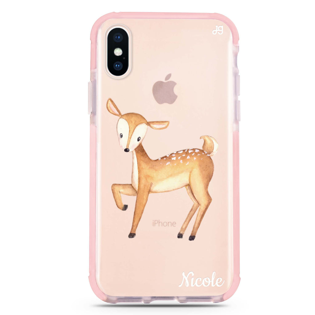 Funny Deer iPhone XS Max 吸震防摔保護殼
