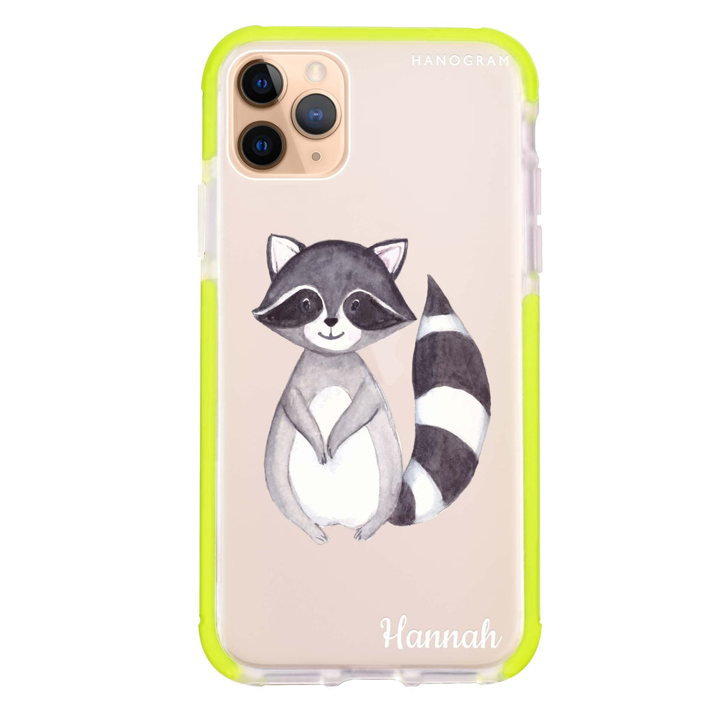 Smiling Raccoon iPhone 11 Pro Max 吸震防摔保護殼