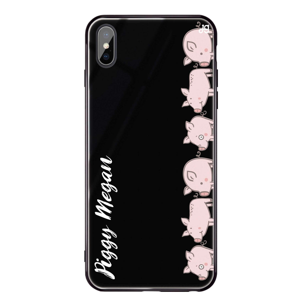 Piggy Corps iPhone XS 超薄強化玻璃殻