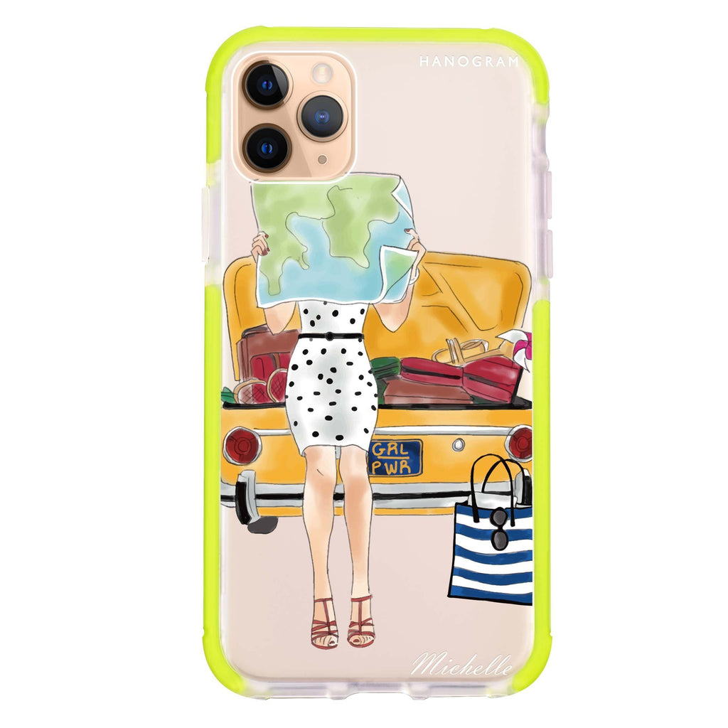 Travel girl III iPhone 11 Pro 吸震防摔保護殼