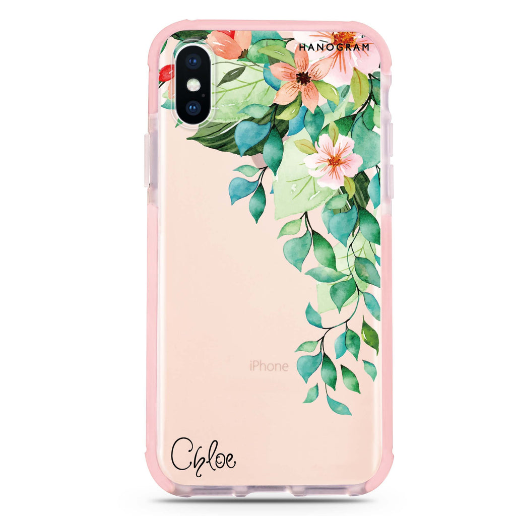 Secret Flower iPhone XS Max 吸震防摔保護殼