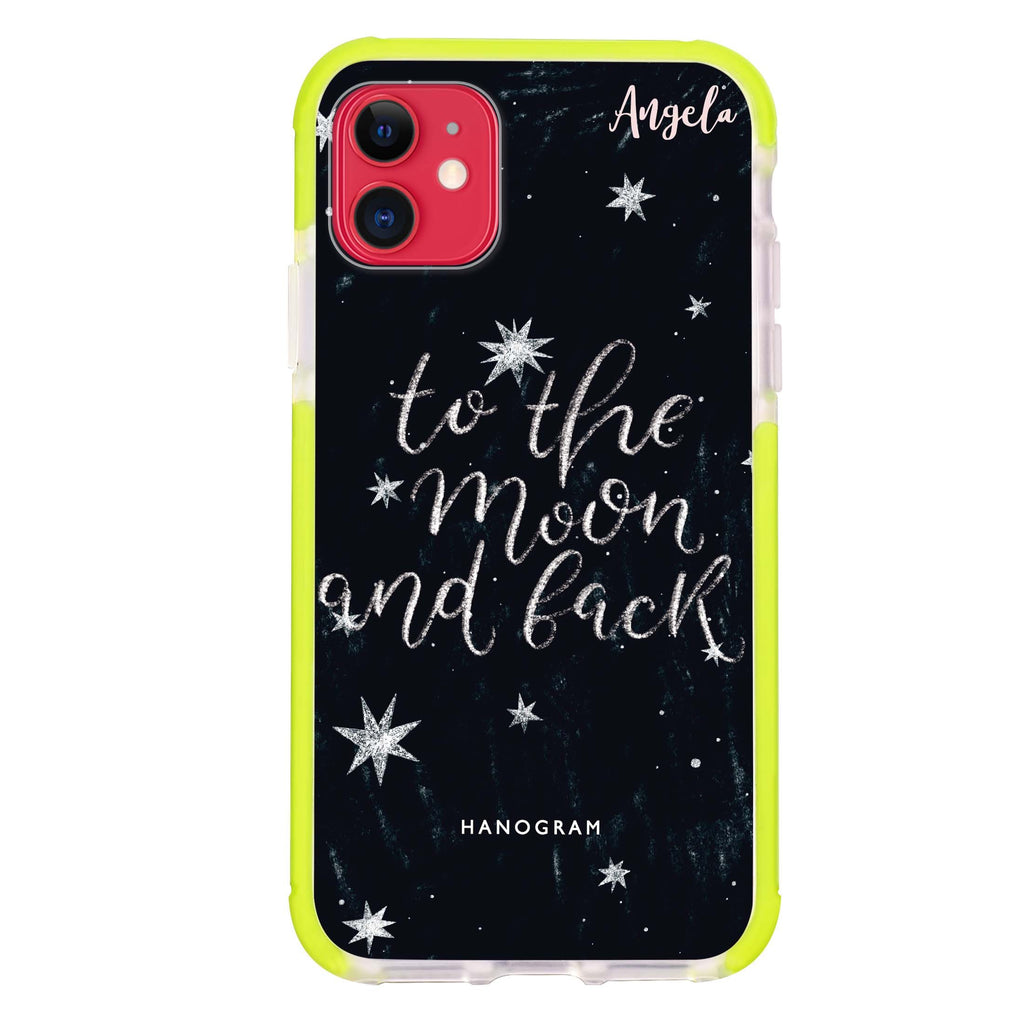 To the moon and back iPhone 11 吸震防摔保護殼