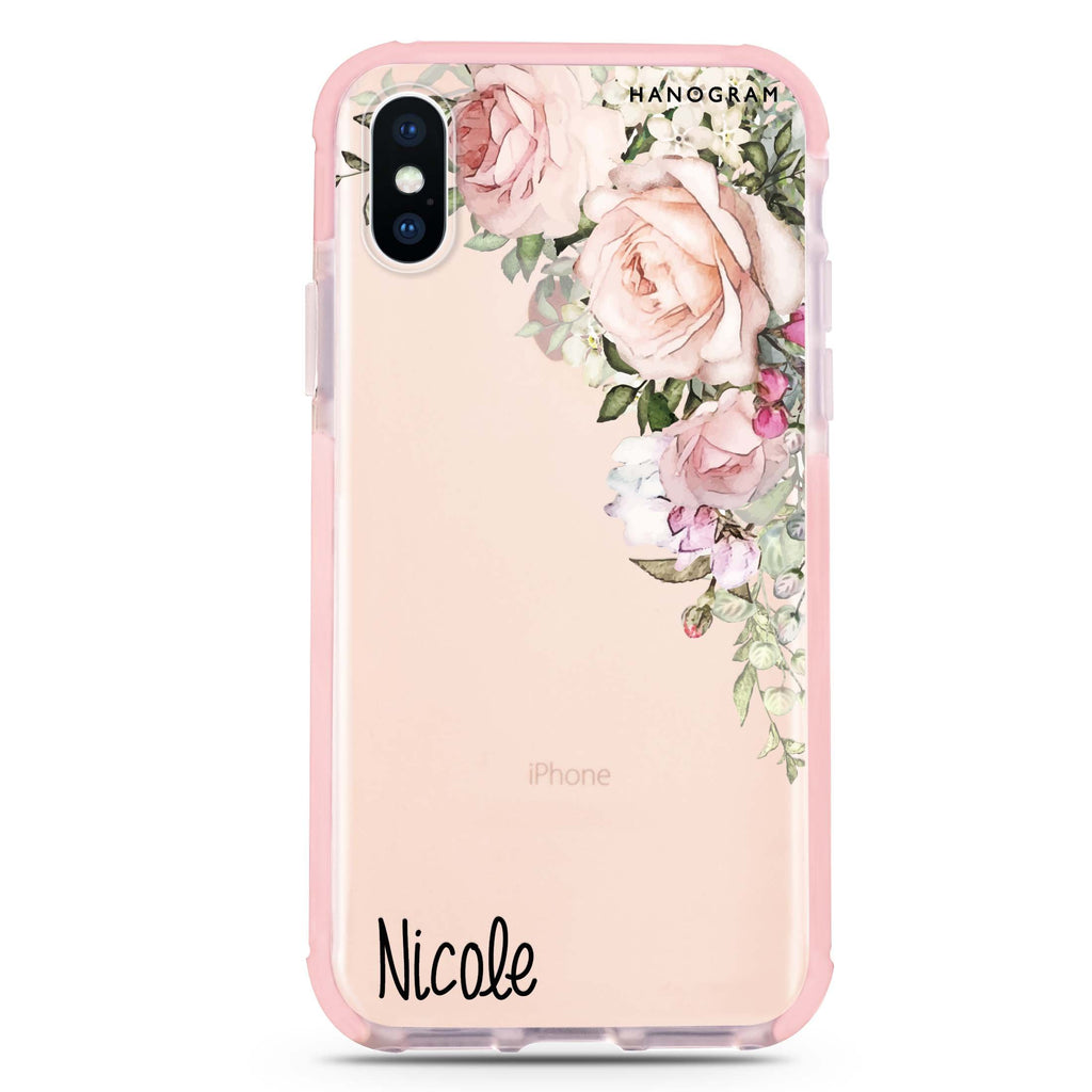Elegant Rose I iPhone XS Max 吸震防摔保護殼
