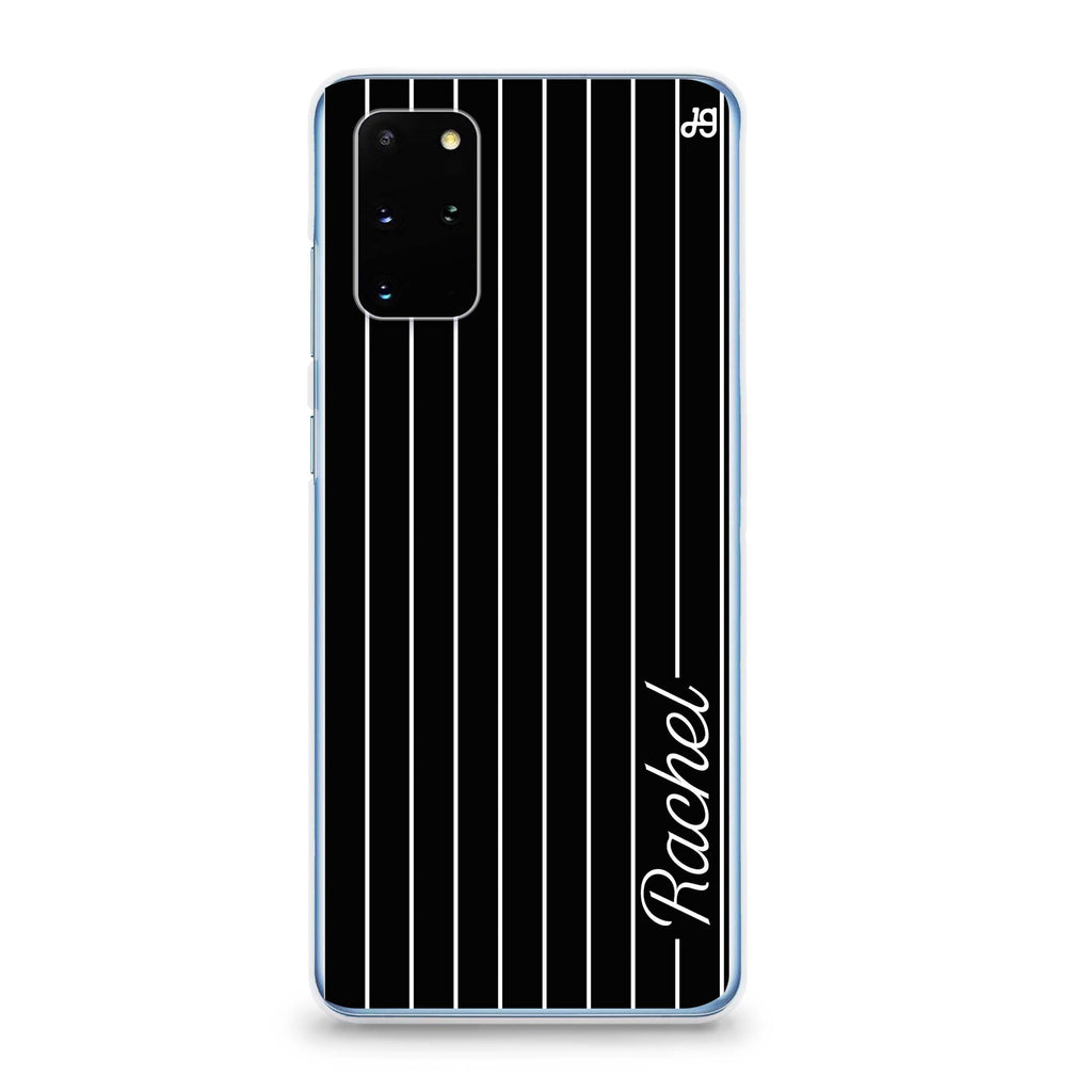 Stripes I Samsung S20 透明軟保護殻