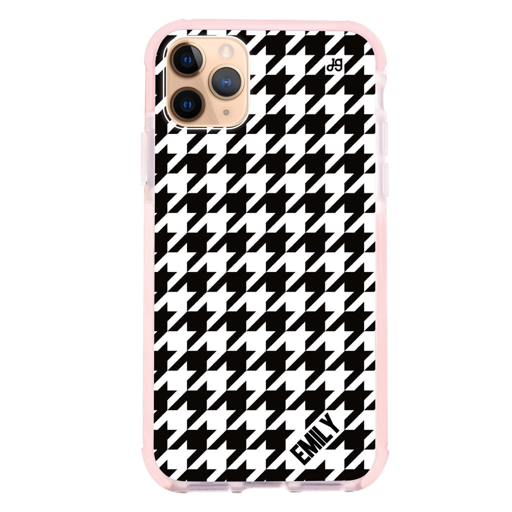 Houndstooth iPhone 11 Pro Max 吸震防摔保護殼