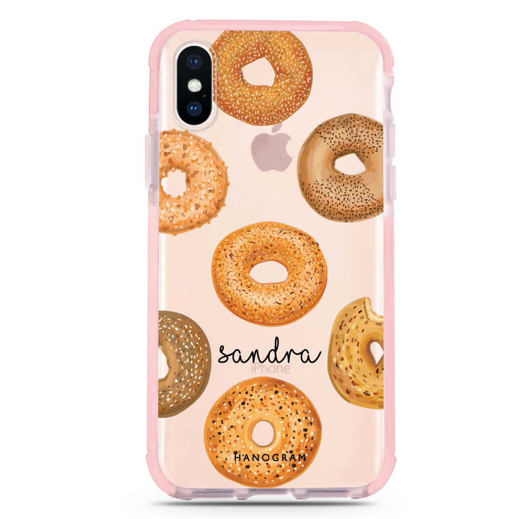 Delicious Donuts iPhone XS Max 吸震防摔保護殼