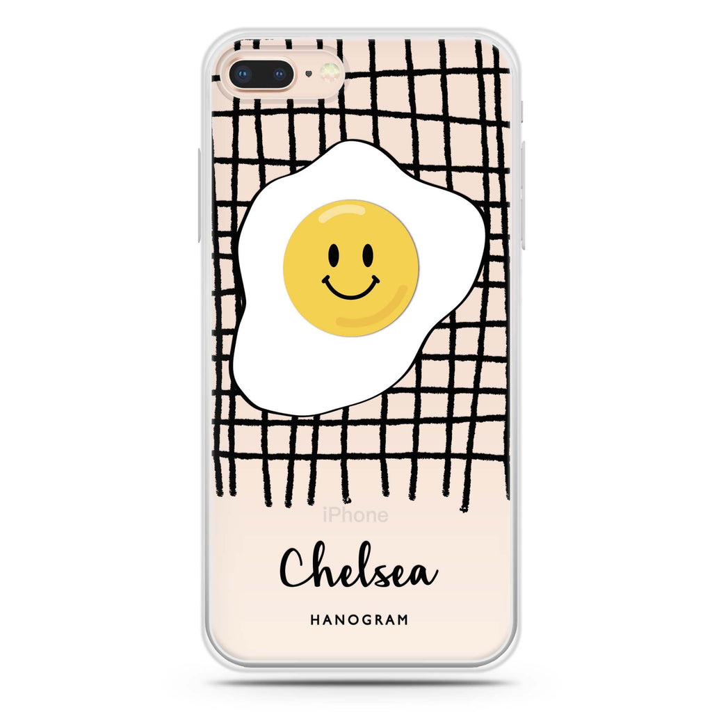 Funny Egg iPhone 8 Plus 透明軟保護殻