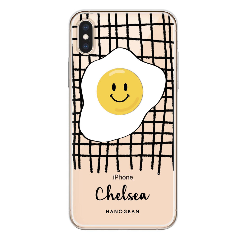 Funny Egg iPhone X 透明軟保護殻