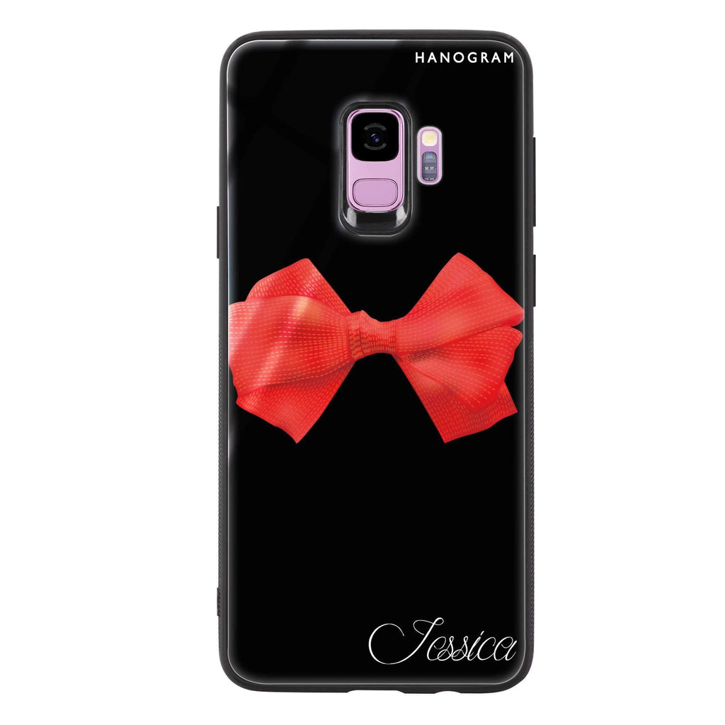 Red Bow Samsung S9 超薄強化玻璃殻