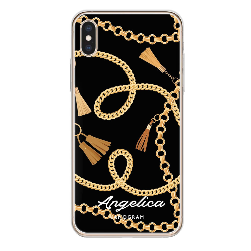 Belt and Chain I iPhone X 透明軟保護殻