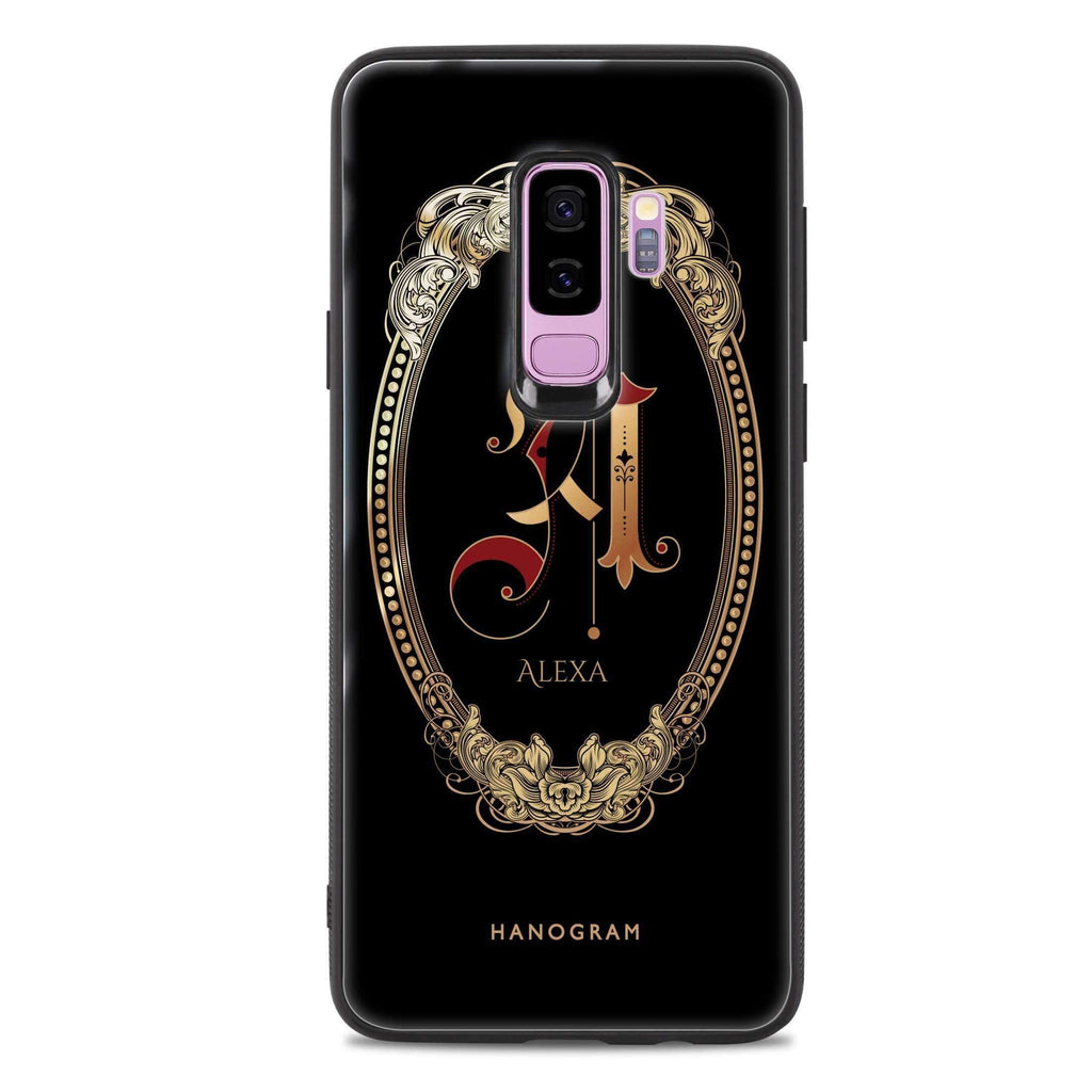 Gothic Ornamental Samsung S9 Plus 超薄強化玻璃殻