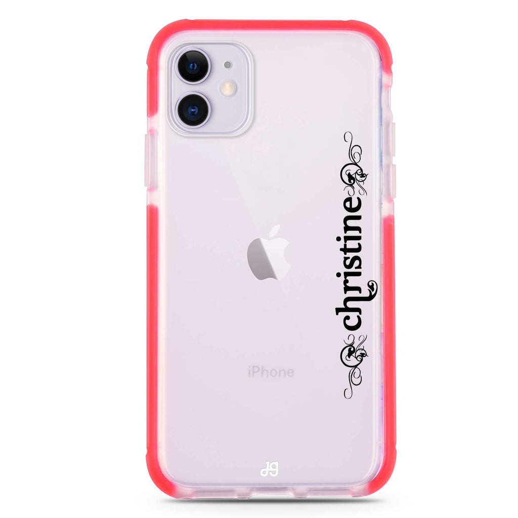 Grand Custom Name iPhone 11 吸震防摔保護殼