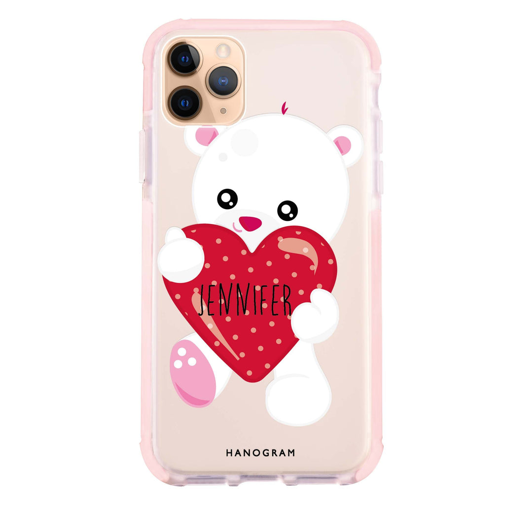 Lovely Bear iPhone 11 Pro Max 吸震防摔保護殼