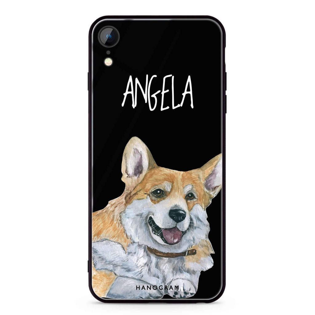 Corgi iPhone XR 超薄強化玻璃殻