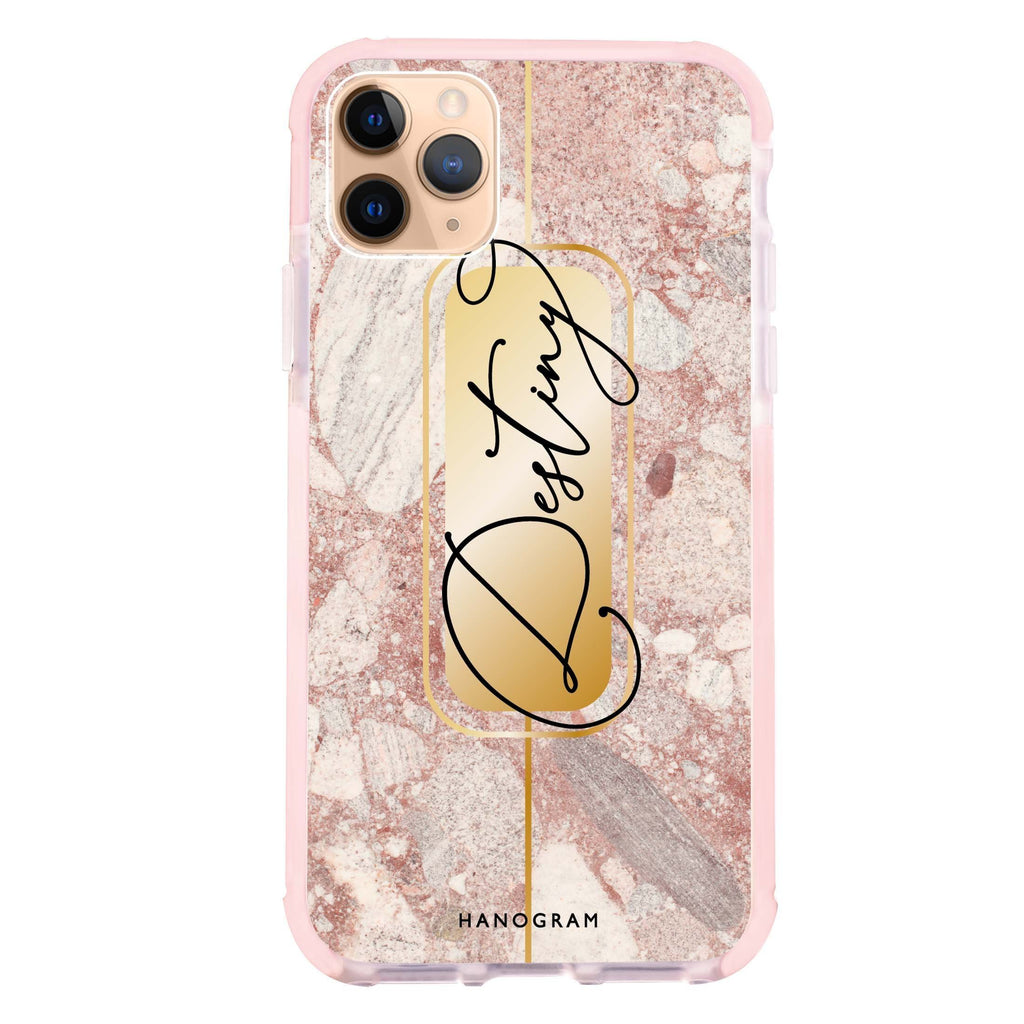 Golden Marble iPhone 11 Pro 吸震防摔保護殼
