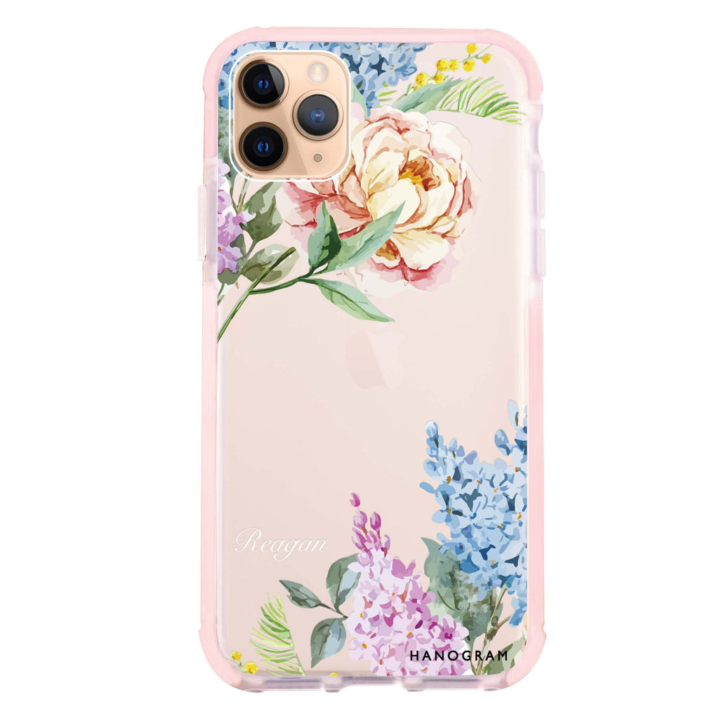 Tropical Floral iPhone 11 Pro Max 吸震防摔保護殼