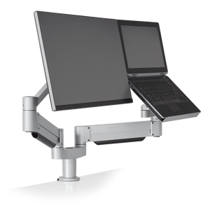 Innovative 7050 - Adjustable Laptop + Monitor Mount - Innovative - Laptop and Monitor Mount - Endless Desks