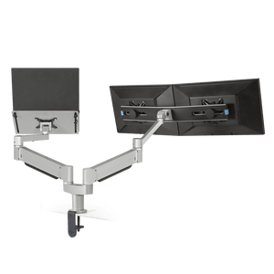 Innovative 7050 - Switch - Adjustable Laptop + Dual Monitor Mount - Innovative - Laptop and Monitor Mount - Endless Desks