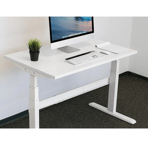 Mount-It! Tabletop For Sit-Stand Desk, White - Endless Desks