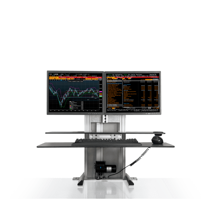 Innovative One Touch Dual Ultra Sit-Stand Workstation - Innovative - Workstation - Endless Desks