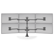 Load image into Gallery viewer, Innovative Staxx 3 over 3 Adjustable Monitor Mount - Wide - Innovative - Monitor Mount - Endless Desks