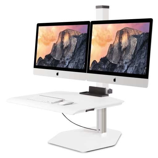 Innovative Apple iMac VESA Dual Sit-Stand Workstation - Innovative - Workstation - Endless Desks