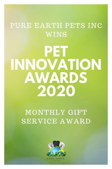 PURE EARTH PETS WINS PET INNOVATION AWARDS 2020