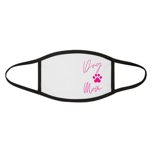 Dog Mom Mixed-Fabric Face Mask
