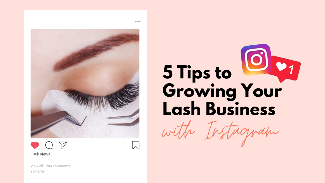 how to grow lash business