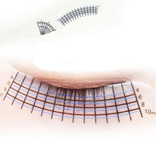Load image into Gallery viewer, Eyelash Extensions Ruler