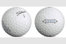 Titleist Tour Speed Golf Balls - Dozen
