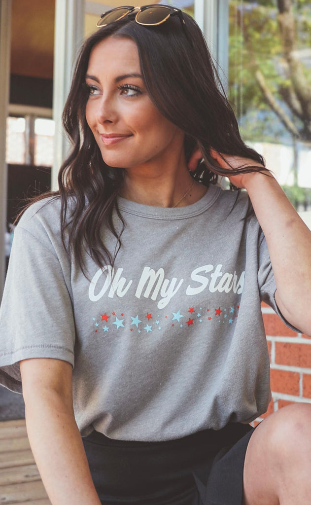 charlie southern: oh my stars t shirt