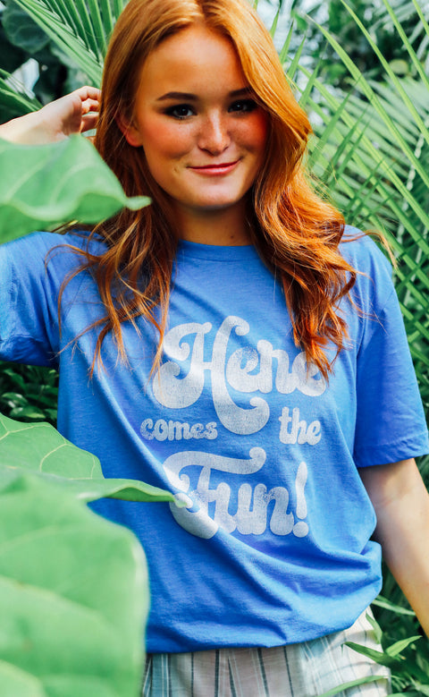friday + saturday: here comes the fun t shirt