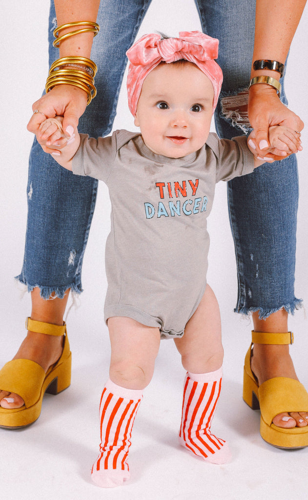 friday + saturday: tiny dancer onesie