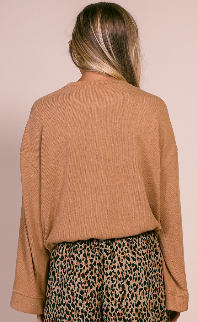 amuse society: cosi knit top